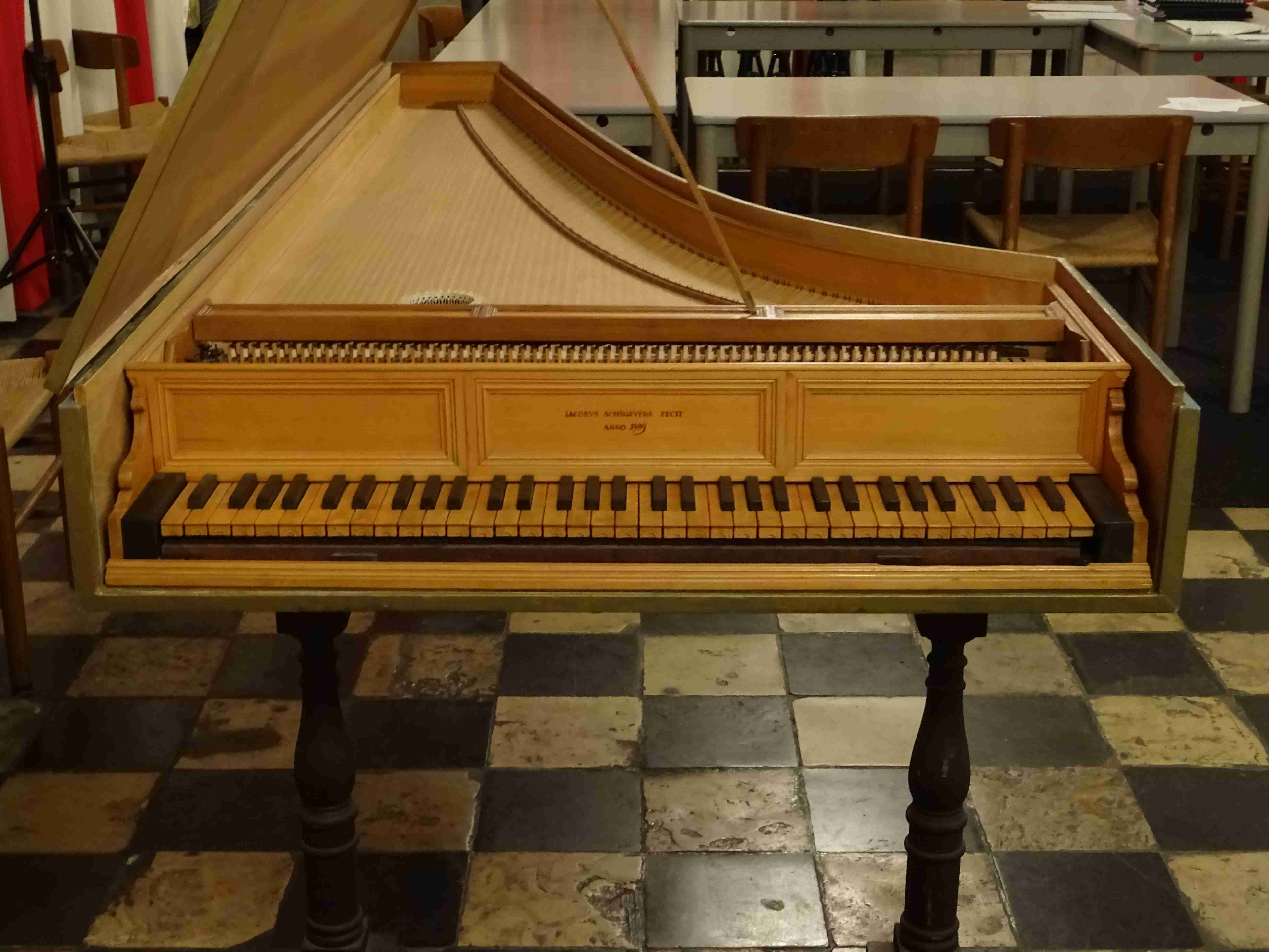 Holland: Harpsichords, spinets, virginals, clavichords and ...
